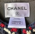 Chanel Blue White Red Dark and Striped Mesh Cutout Coat / Cardigan Jacket Size 6 (S) Chanel Blue White Red Dark and Striped Mesh Cutout Coat / Cardigan Jacket Size 6 (S) Image 4