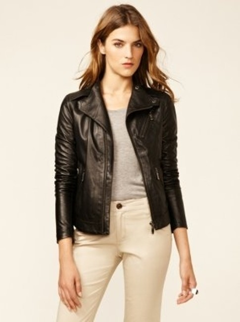 J Brand BLACK Leather Jacket