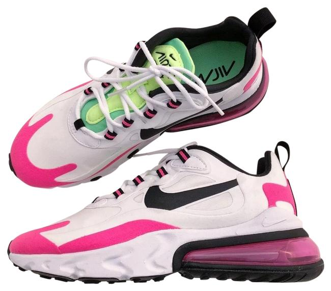 Nike Pink Women's Air Max 270 React Hyper Technology Delivers An Extremely Smooth Ride Reduces Weight and Adds Sneakers Size US 8 Narrow (Aa, N) Nike Pink Women's Air Max 270 React Hyper Technology Delivers An Extremely Smooth Ride Reduces Weight and Adds Sneakers Size US 8 Narrow (Aa, N) Image 1