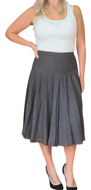 Item - Gray Wool A-line Skirt Size 8 (M, 29, 30)
