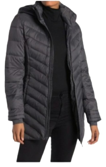 Item - Gray Boundless Thermaweb Long Quilted Jacket Coat Size 12 (L)