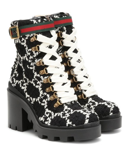 Preload https://img-static.tradesy.com/item/28082579/gucci-black-and-white-tweed-gg-ankle-bootsbooties-size-eu-365-approx-us-65-regular-m-b-0-0-540-540.jpg