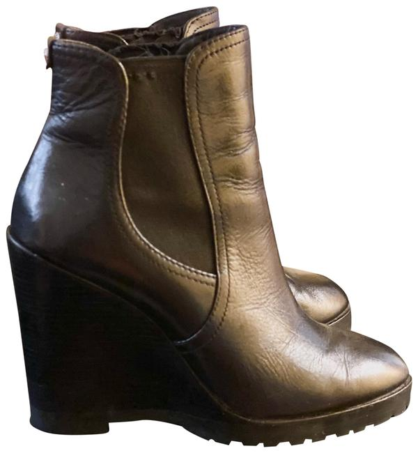 Item - Black Mk Wedge Boots/Booties Size US 8 Regular (M, B)