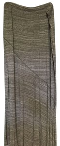 Mossimo Supply Co. Maxi Skirt Grey and white