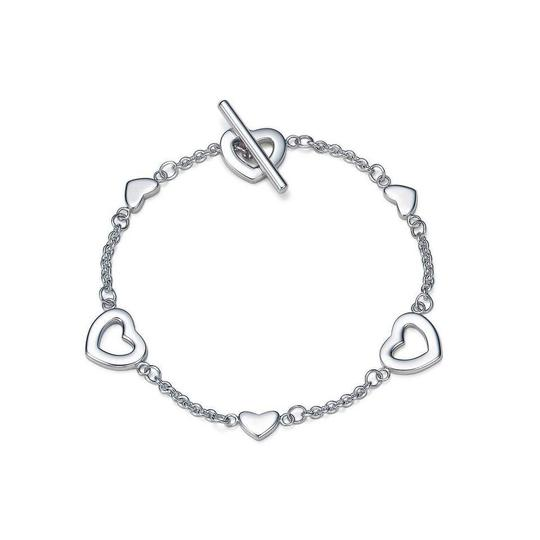 Preload https://img-static.tradesy.com/item/28083279/tiffany-and-co-silver-heart-links-lariat-toggle-321-bracelet-0-0-540-540.jpg