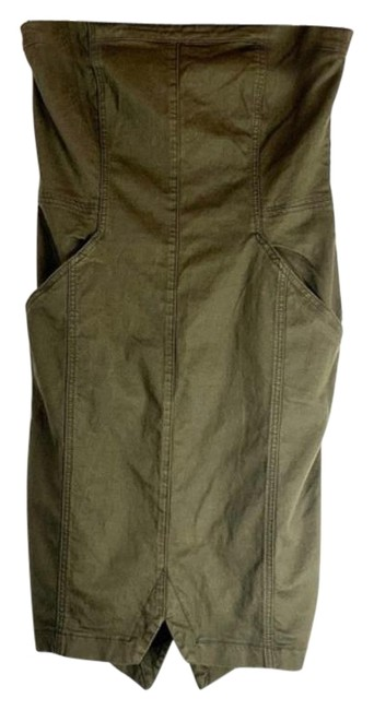 Item - Army Green Cadence Short Casual Dress Size 10 (M)