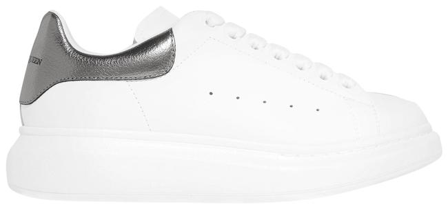 Alexander McQueen White Leather Exaggerated-sole Sneakers Size EU 39 (Approx. US 9) Regular (M, B) Alexander McQueen White Leather Exaggerated-sole Sneakers Size EU 39 (Approx. US 9) Regular (M, B) Image 1