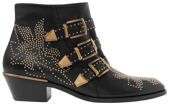 Item - Black Susanna Studded Leather Ankle Boots/Booties Size EU 36 (Approx. US 6) Regular (M, B)