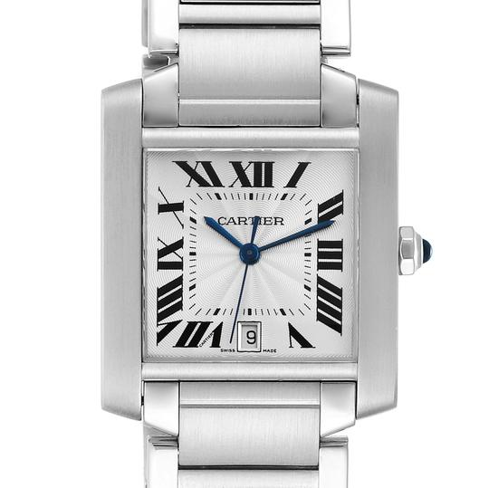 Preload https://img-static.tradesy.com/item/28083965/cartier-silver-tank-francaise-dial-steel-mens-w51002q3-watch-0-0-540-540.jpg