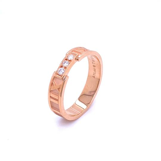 Preload https://img-static.tradesy.com/item/28084887/tiffany-and-co-25349-m-roman-alas-diamond-18k-rose-gold-numeral-band-ring-0-0-540-540.jpg