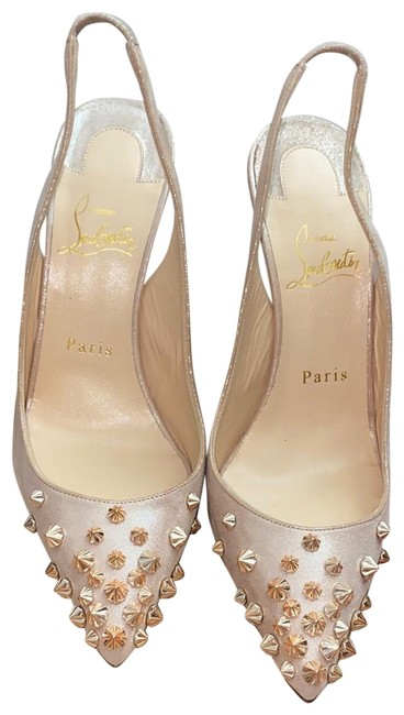 Item - Rose Gold Lame Pumps Size EU 37.5 (Approx. US 7.5) Narrow (Aa, N)
