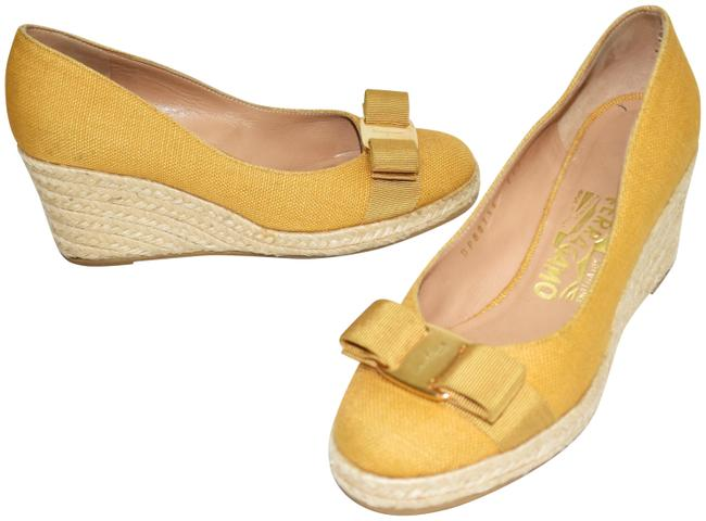 Item - Mustard Yellow Darly Canvas Espadrille (Se17) Pumps Size US 5 Regular (M, B)