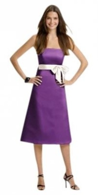 Preload https://item2.tradesy.com/images/alfred-sung-purple-401african-violet14-knee-length-cocktail-dress-size-14-l-28086-0-0.jpg?width=400&height=650