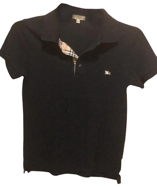 Item - Black Polo Button-down Top Size 4 (S)