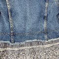 Anthropologie Blue Pilcro and The Letterpress Eyelet Jacket Size 2 (XS) Anthropologie Blue Pilcro and The Letterpress Eyelet Jacket Size 2 (XS) Image 12