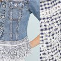Anthropologie Blue Pilcro and The Letterpress Eyelet Jacket Size 2 (XS) Anthropologie Blue Pilcro and The Letterpress Eyelet Jacket Size 2 (XS) Image 4