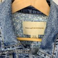 Anthropologie Blue Pilcro and The Letterpress Eyelet Jacket Size 2 (XS) Anthropologie Blue Pilcro and The Letterpress Eyelet Jacket Size 2 (XS) Image 6