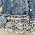 Anthropologie Blue Pilcro and The Letterpress Eyelet Jacket Size 2 (XS) Anthropologie Blue Pilcro and The Letterpress Eyelet Jacket Size 2 (XS) Image 10