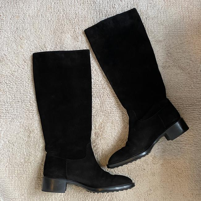 Tod's Black Suede Knee High with Buckles Boots/Booties Size EU 36 (Approx. US 6) Regular (M, B) Tod's Black Suede Knee High with Buckles Boots/Booties Size EU 36 (Approx. US 6) Regular (M, B) Image 2