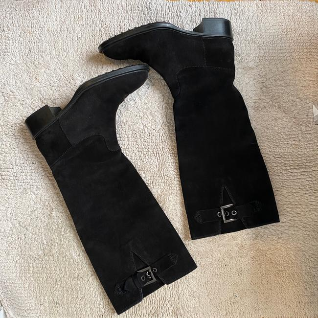 Tod's Black Suede Knee High with Buckles Boots/Booties Size EU 36 (Approx. US 6) Regular (M, B) Tod's Black Suede Knee High with Buckles Boots/Booties Size EU 36 (Approx. US 6) Regular (M, B) Image 3