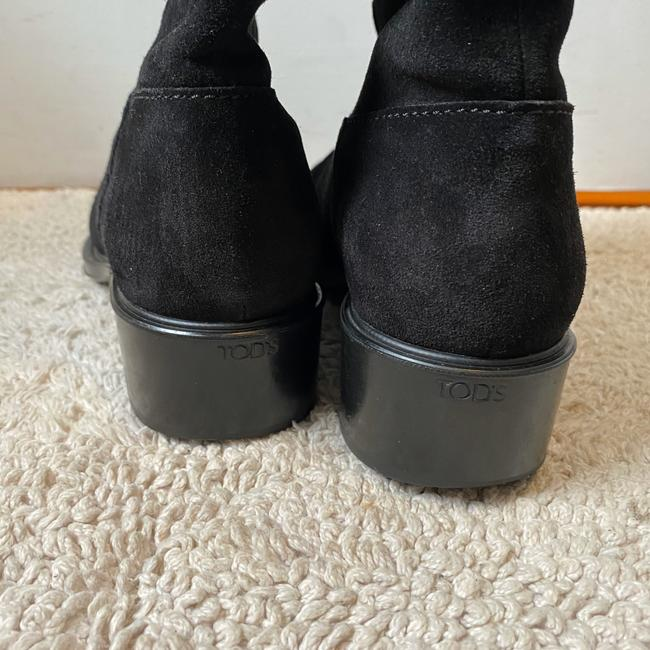Tod's Black Suede Knee High with Buckles Boots/Booties Size EU 36 (Approx. US 6) Regular (M, B) Tod's Black Suede Knee High with Buckles Boots/Booties Size EU 36 (Approx. US 6) Regular (M, B) Image 6