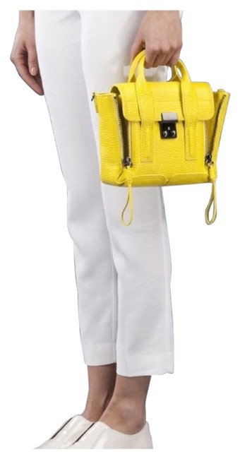 Item - Neon Mini Pashli Yellow Leather Satchel