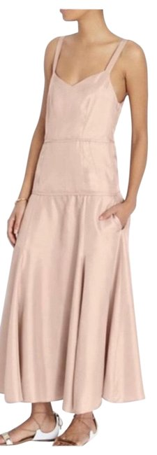 Item - Tan And Rugby Long Casual Maxi Dress Size 6 (S)
