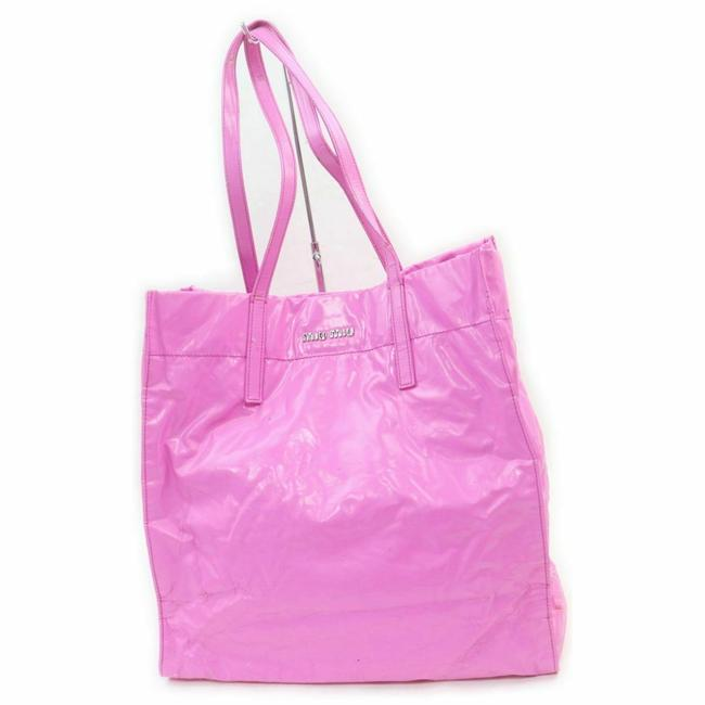 Item - 9*** Pink Leather Tote