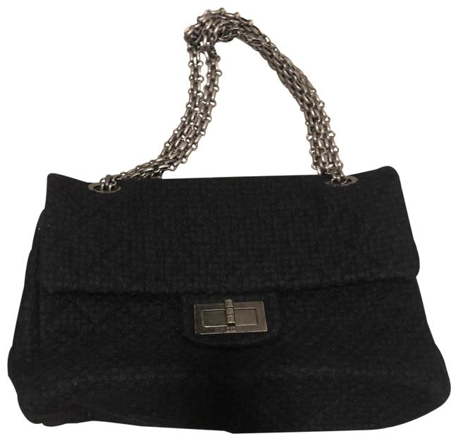 Item - Black Wool Weekend/Travel Bag