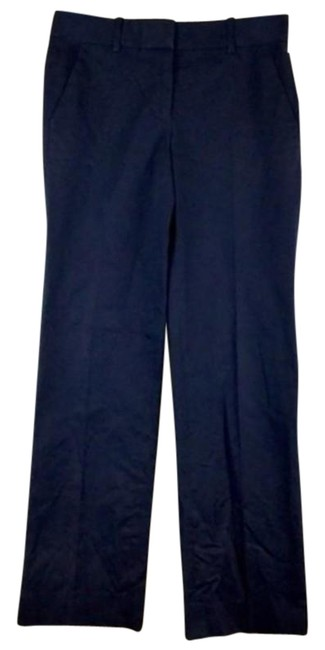 Item - Blue Dark Straight Leg Pants with Pockets Romper/Jumpsuit