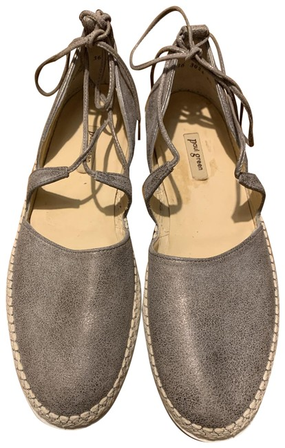Item - Gold Espadrille Flats Size US 8 Regular (M, B)