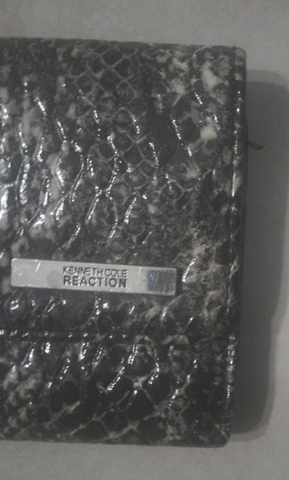 Kenneth Cole Reaction Faux Patent Name Tag Free Shipping 7