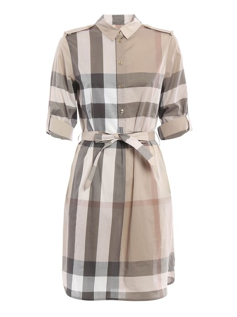Item - Taupe Brown Classic Kelsy Chemisier Short Casual Dress Size 8 (M)