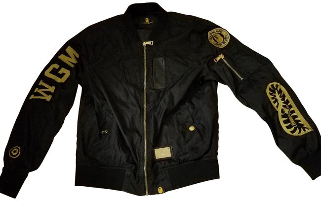 Black Fun Bomber Jacket Size 4 (S) Black Fun Bomber Jacket Size 4 (S) Image 1