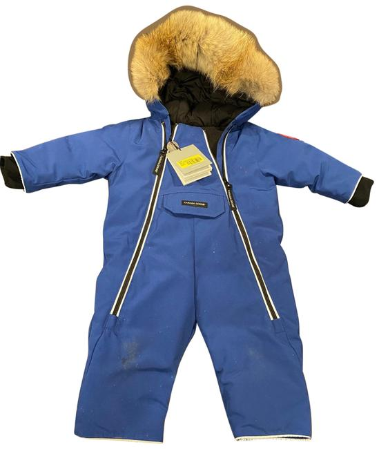 Item - Blue Baby Snow Suit Coat Size 00 (XXS)