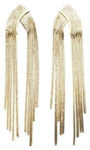 Citrine by the Stones Long Chain Earrings