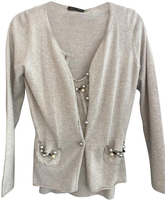 Item - Gray Shell Sweater Set Cardigan Size 8 (M)