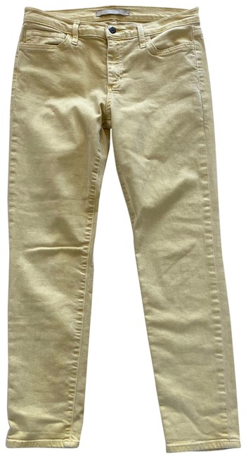 Item - Yellow Gold Straight Ankle 30 Skinny Jeans Size 8 (M, 29, 30)