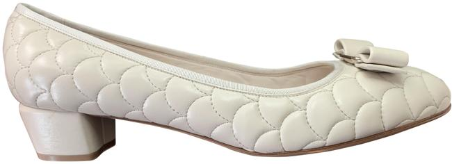 Item - Bone Cream Vara Low Pumps Size US 11 Wide (C, D)