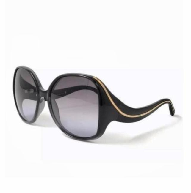 Item - Black Grey Gradient Oversize Sunglasses