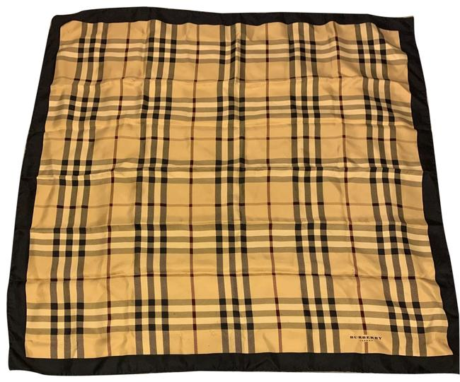 Item - Black and Gold Classic Silk Scarf/Wrap