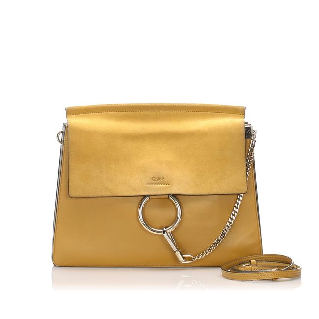 Item - Faye Yellow Leather Shoulder Bag