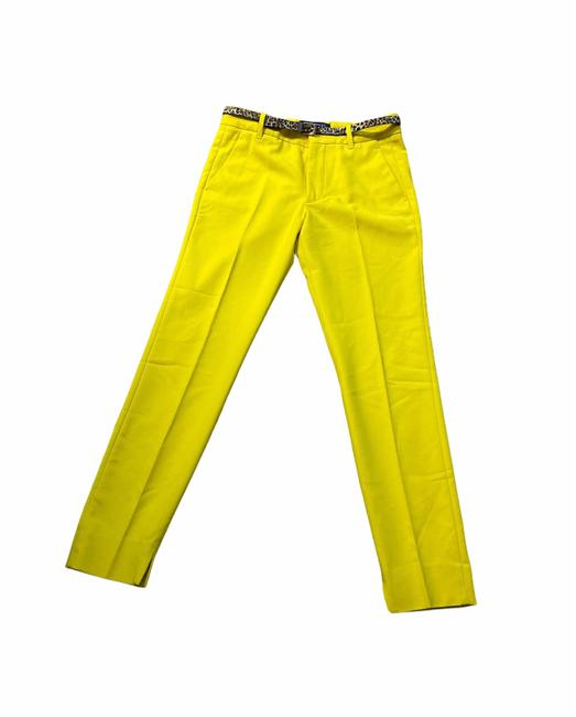 Item - Yellow Belted Pants Size 2 (XS, 26)