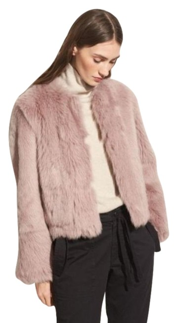 Item - Pink Purple Cropped Shearling Coat Size 4 (S)