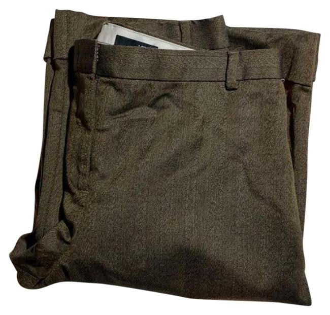 Item - Brown City Fit Cuffed Pants Size 4 (S, 27)