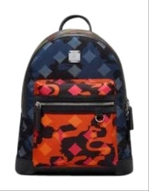 Item - Dieter In Munich Lion Camo Multicolor Nylon Backpack