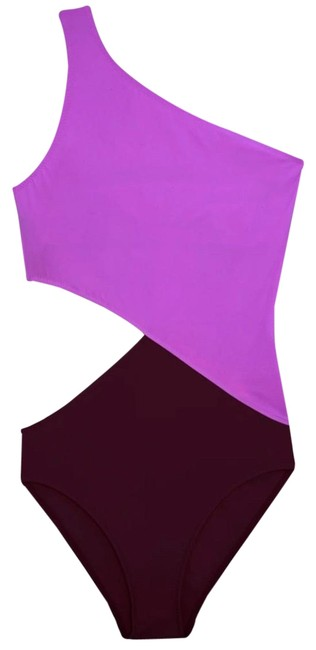 Item - Purple L Elmar Promise/ Sangria B3 One-piece Bathing Suit Size 12 (L)