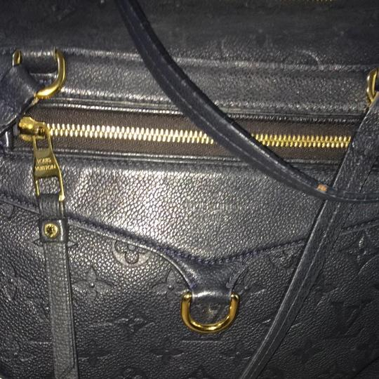 Louis Vuitton Dark Blue Travel Bag