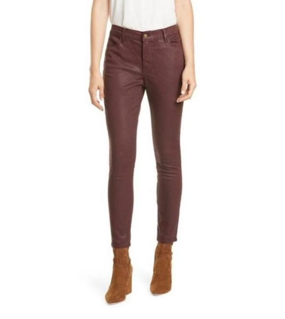 Item - Bordeaux Coated Le High Skinny Jeans Size 0 (XS, 25)