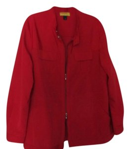 St. John Sporty Red Jacket